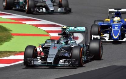 #BritishGP: Rosberg di nuovo al top nelle FP2