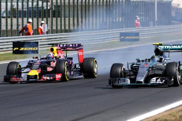 F1: meno sorpassi nel 2015