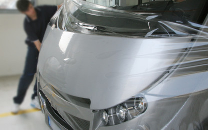 APA Paint Protection Film, c'è ma non si vede!