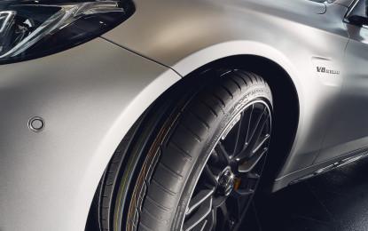 Dunlop equipaggia la Mercedes-AMG C63