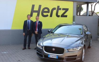 Jaguar e Hertz partnership strategica
