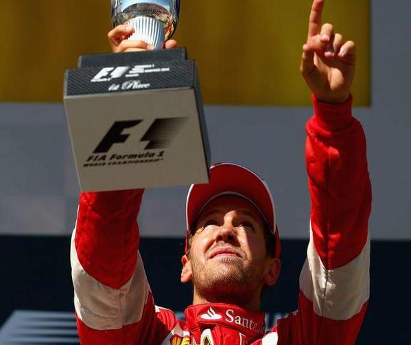 Ungheria: trionfo di Vettel nel nome di Jules