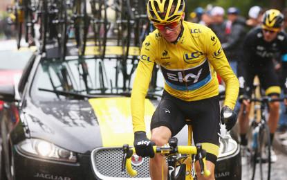 Jaguar e Team Sky: terza storica vittoria al Tour