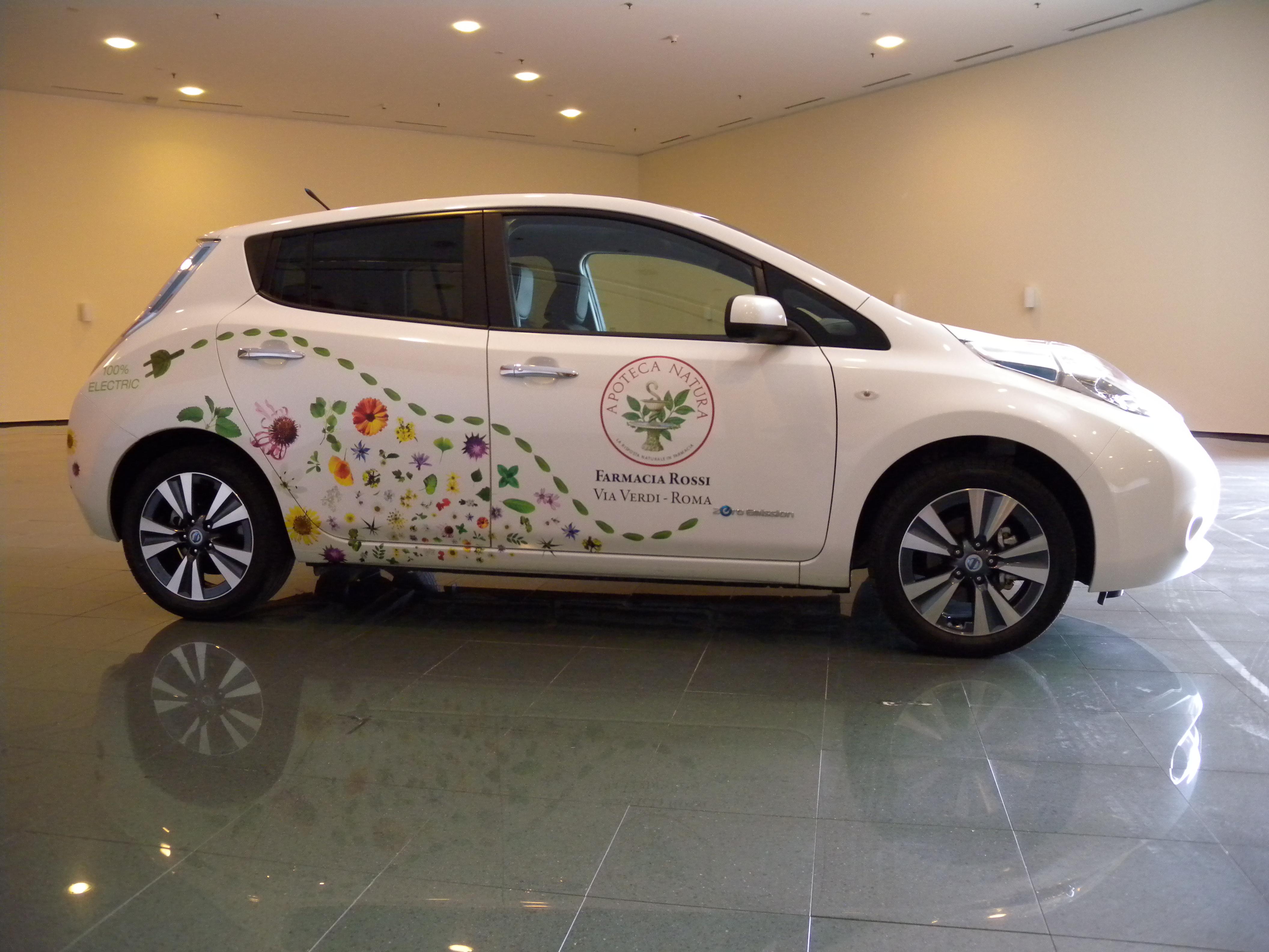 Nissan e Apoteca Natura per un mondo pulito