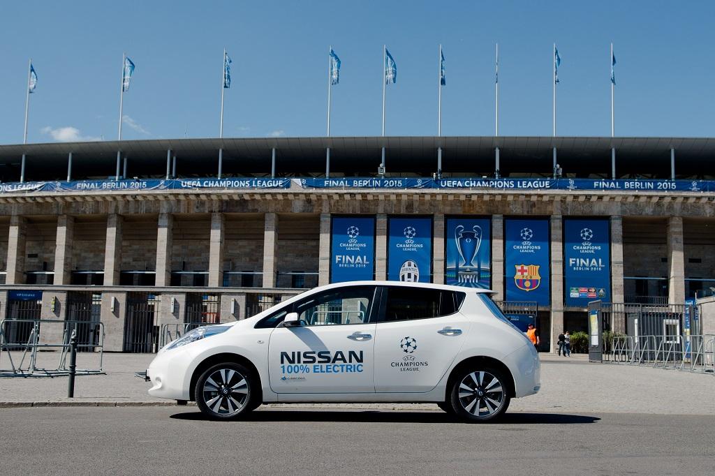 Nissan e UEFA, futuro senza emissioni