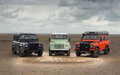 Land Rover Defender fino a febbraio 2016