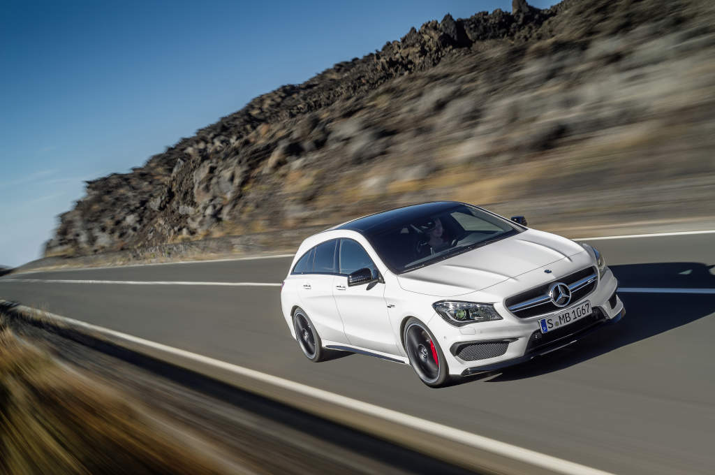 Le nuove compatte Mercedes-AMG