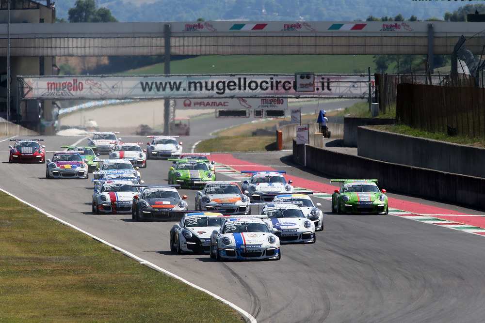 Carrera Cup: Agostini vince Gara 1 al Mugello