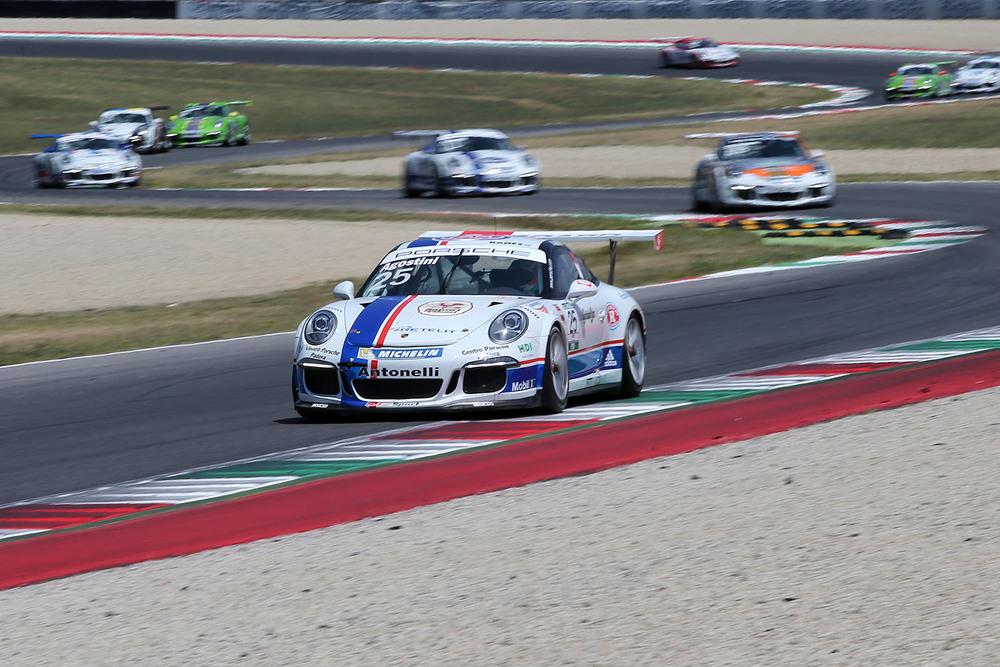 Carrera Cup: per Agostini doppietta al Mugello