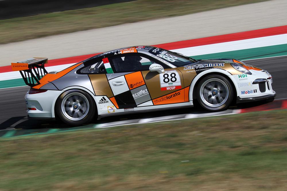 Carrera Cup Italia in scena a Spa