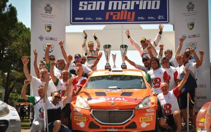San Marino: doppietta Peugeot e Titolo Junior