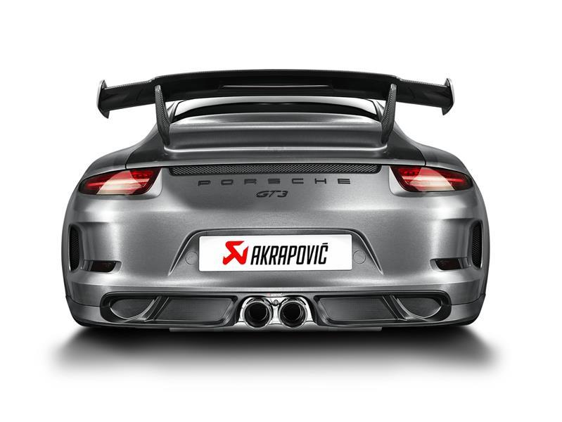 Akrapovič per Porsche GT3