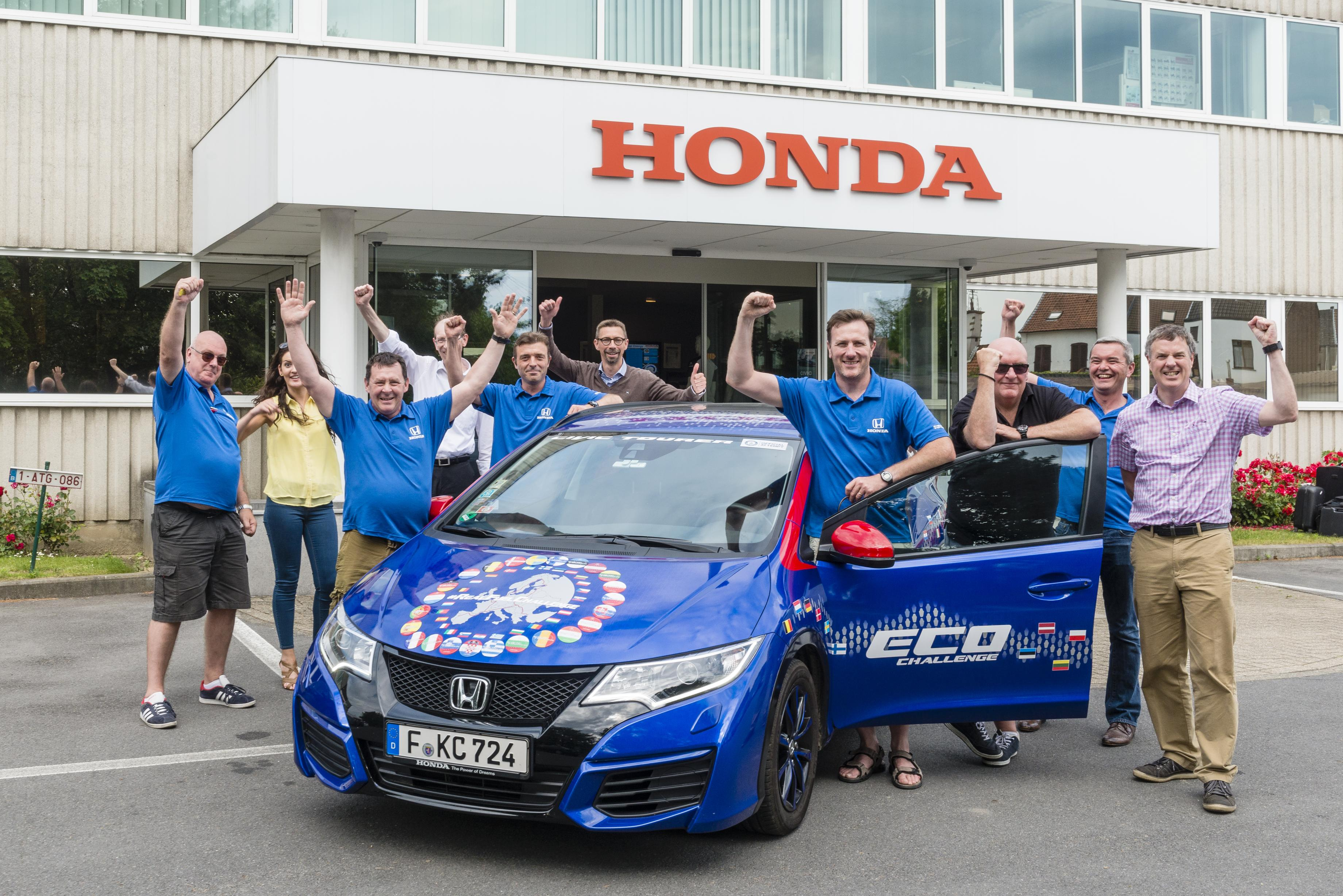Honda: Guinness per i consumi