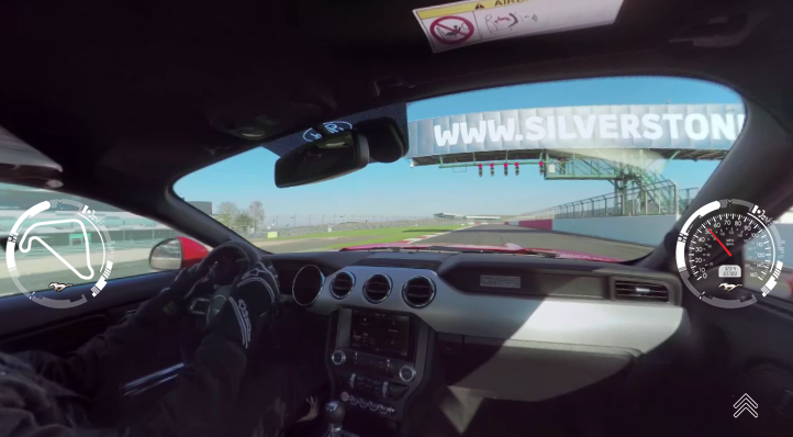 Ford Mustang GT: in pista a Silverstone!