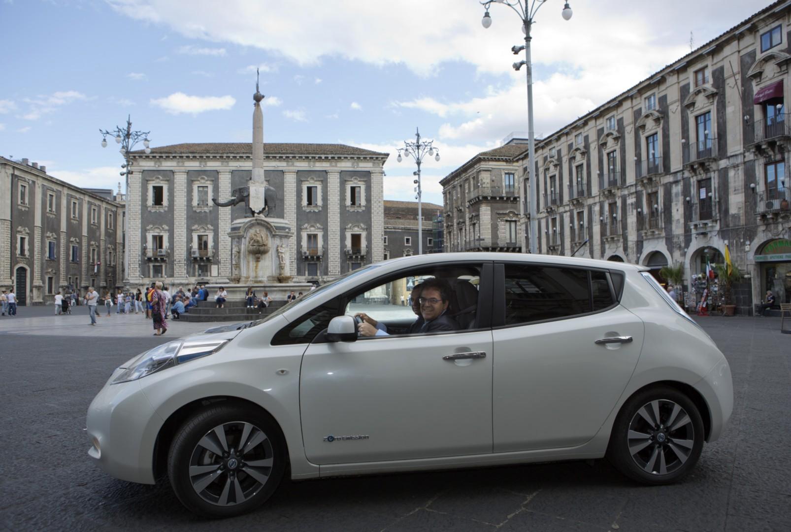 Nissan e i sindaci per le zero emissioni