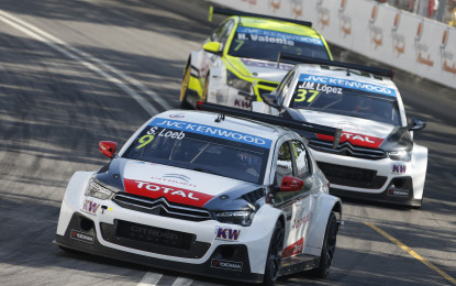 WTCC: Citroën domina a Vila Real