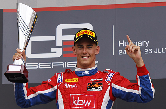 GP3: grande Italia all'Hungaroring