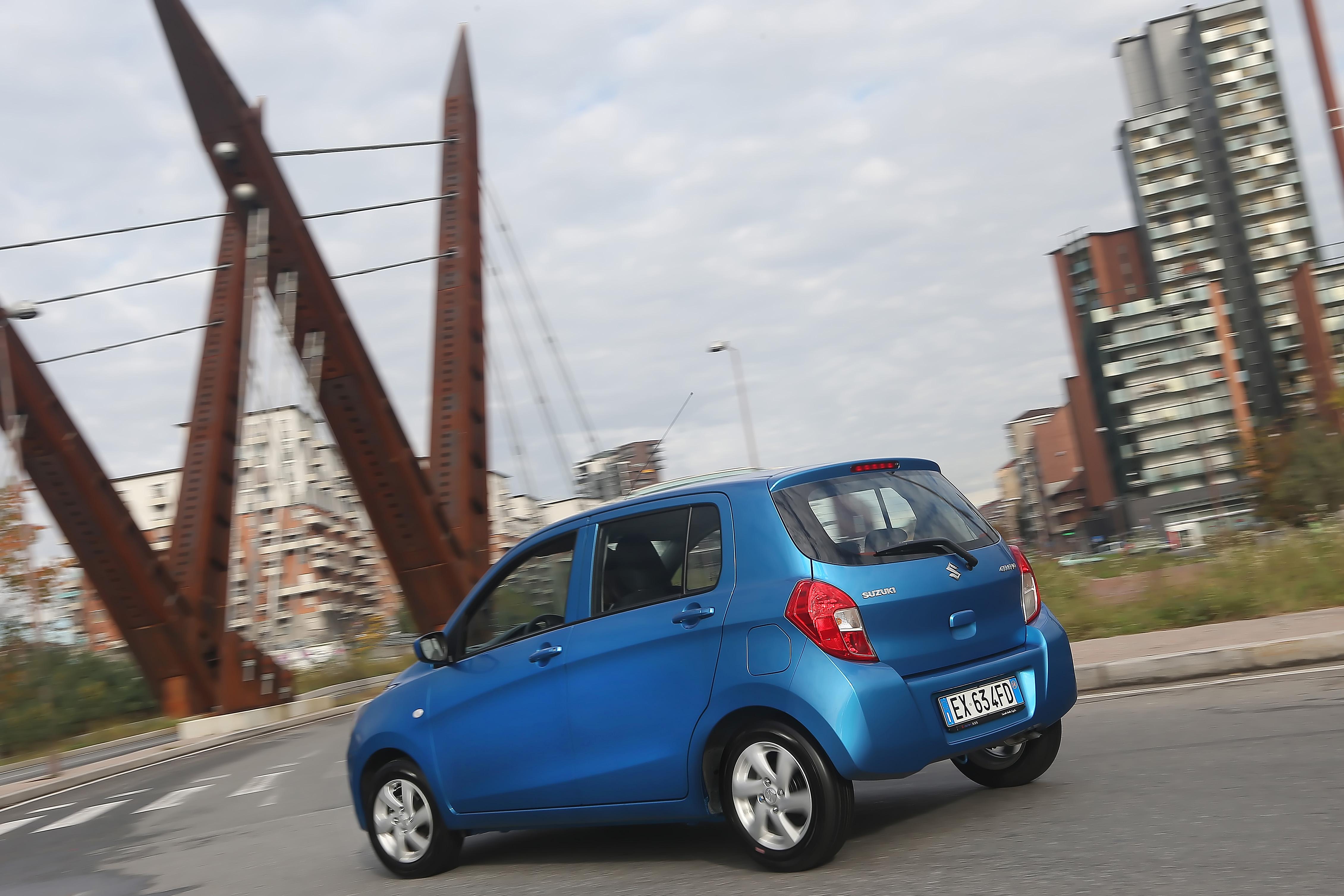 Suzuki Celerio a quota 100mila