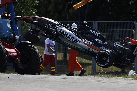 Force India F1 confident of design safety