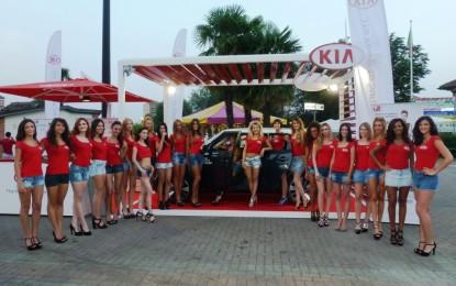 Miss Italia continua a viaggiare in Kia