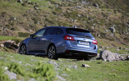 Subaru Levorg in anteprima a Cosmo Bike Show