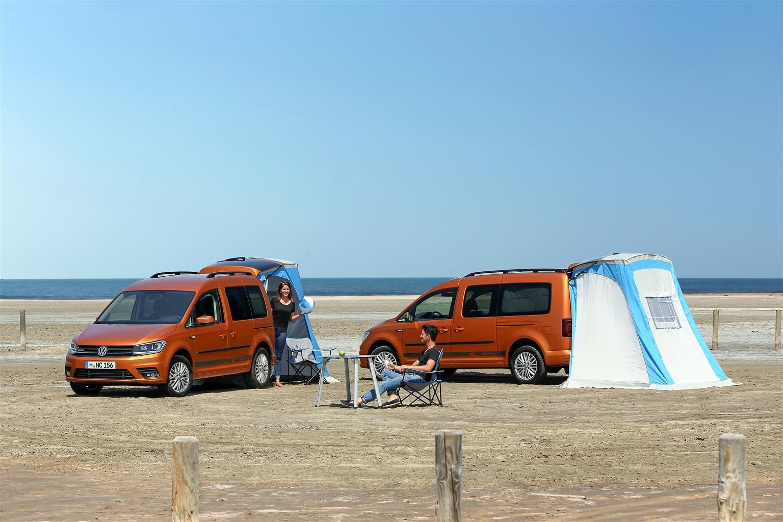 Volkswagen California al Salone del Camper