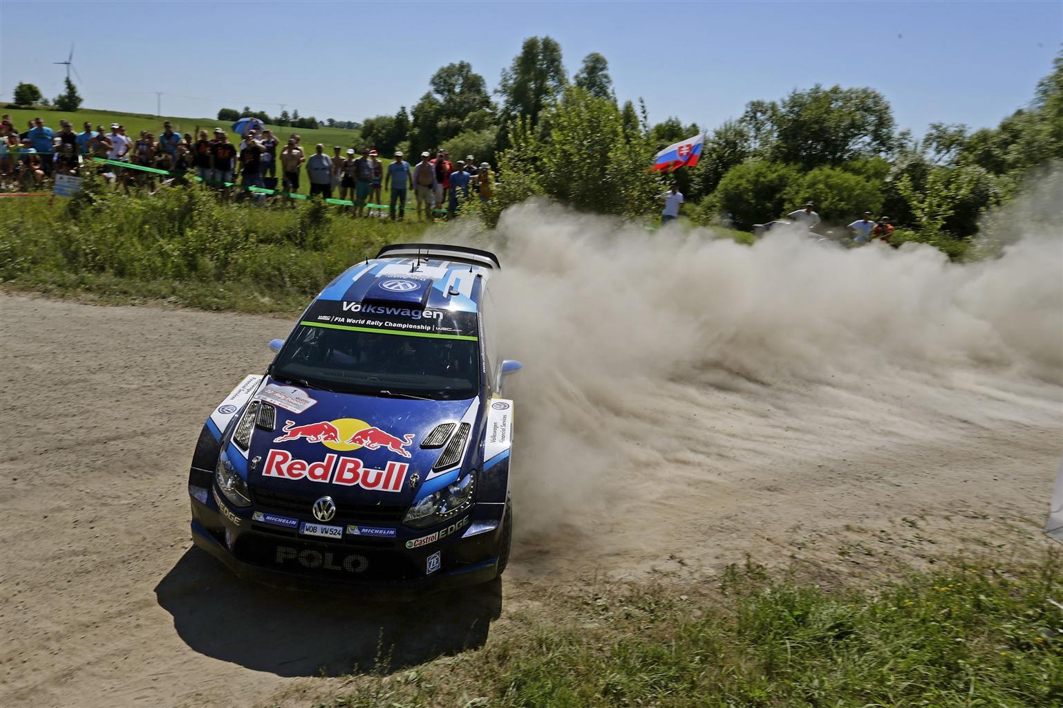WRC: doppietta Volkswagen in Polonia