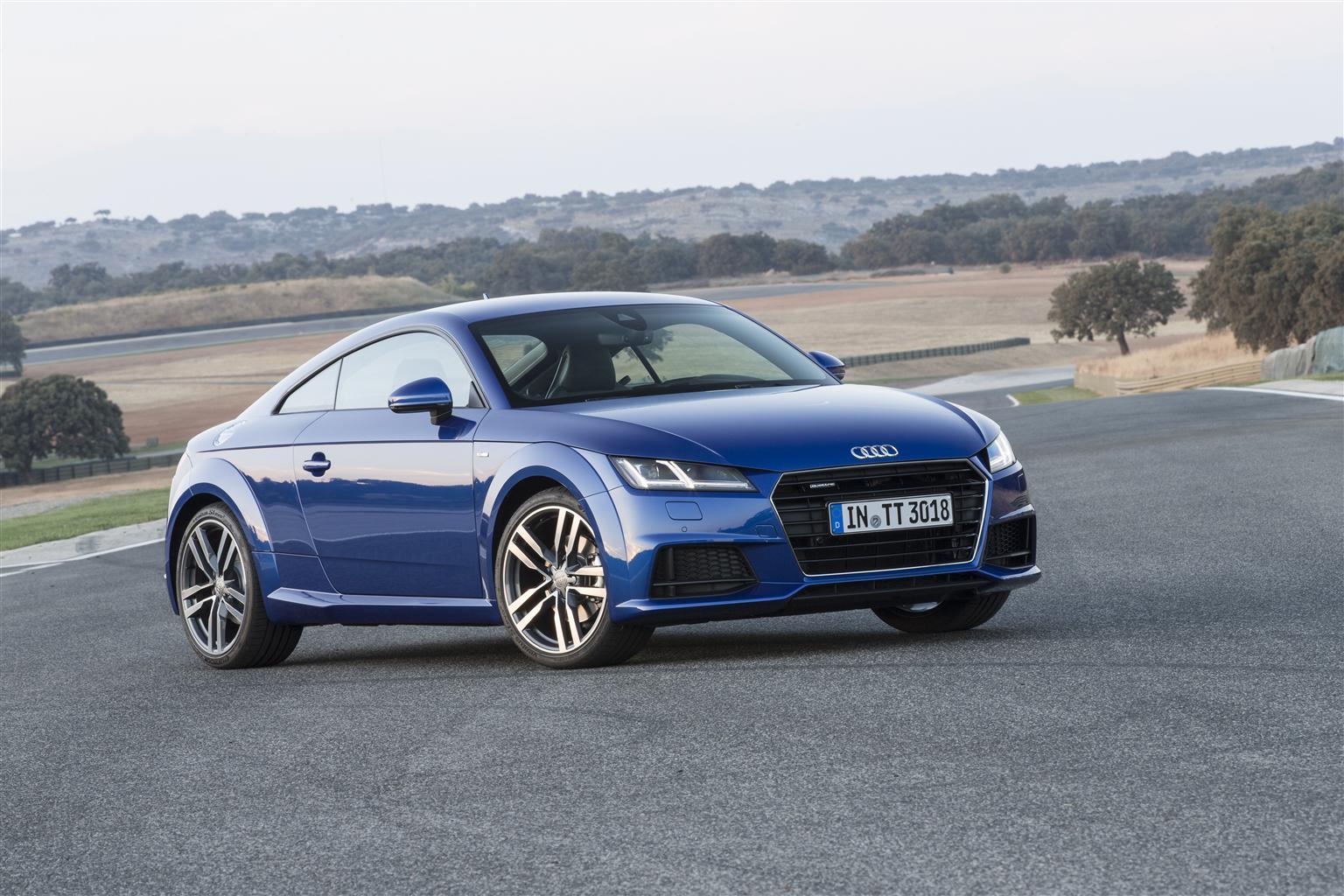 Audi TT con il nuovo 1.8 TFSI 180 CV