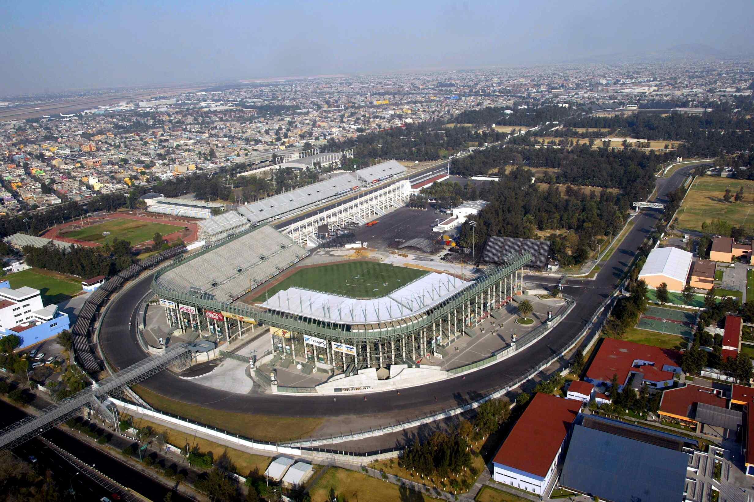 GP Messico: lavori all'80%