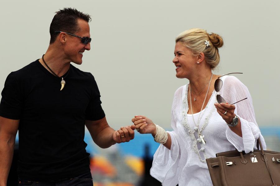 Schumacher: il tribunale dà ragione a Corinna