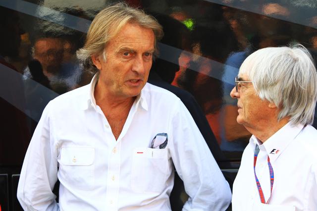 """Montezemolo buon """"front man"""" per la F1"""