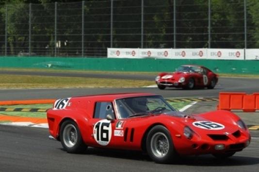 Vittorie Ferrari e Jaguar alla Monza Historic