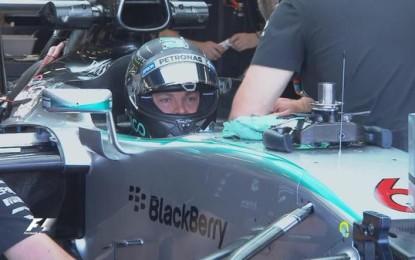 #BritishGP: prime libere a Rosberg