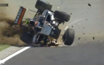 Ungheria FP1: Hamilton, incidente per Perez