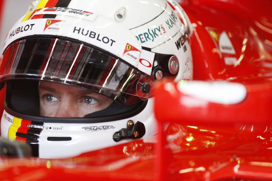 Vettel starts year with test of F14T