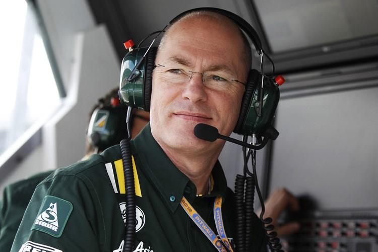Mark Smith Technical Director Sauber F1 Team
