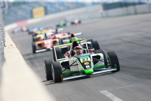F4 ADAC Abarth: tre vincitori al Lausitzring