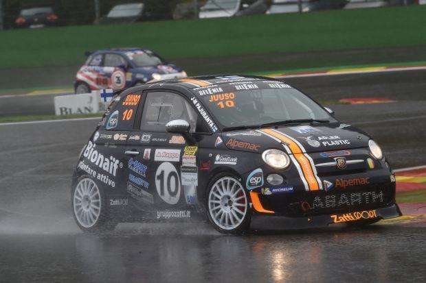 Pajuranta primo a Spa nel Trofeo Abarth