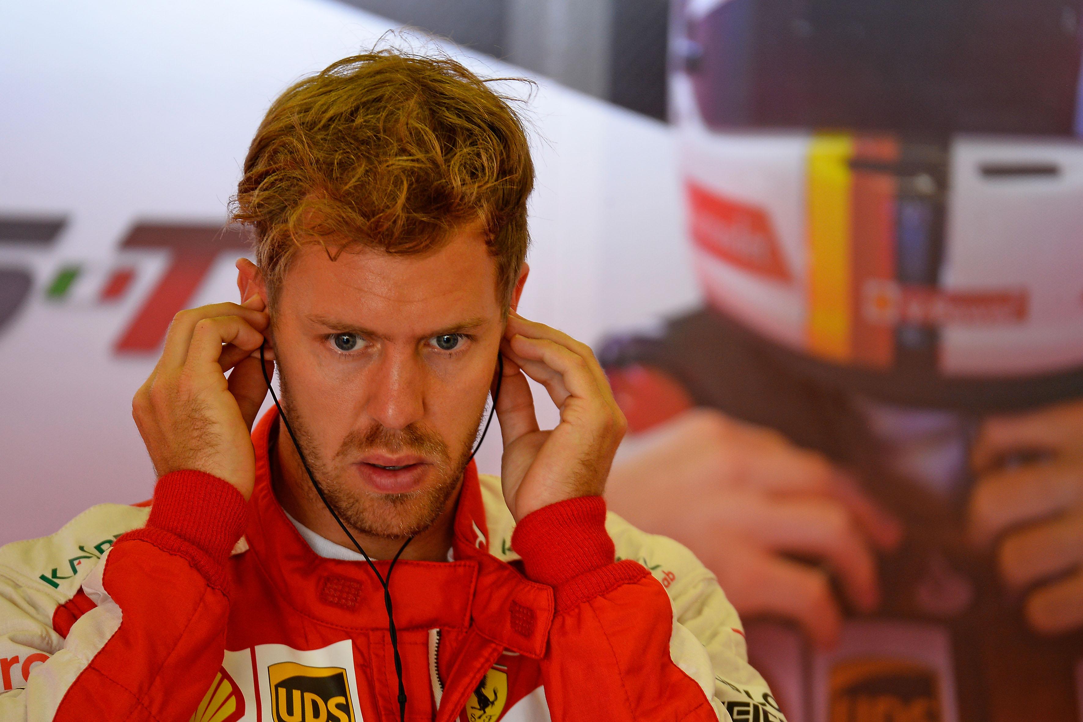 Ungheria: un giro di pista con Vettel