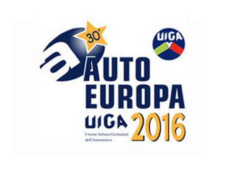 Premio Auto Europa 2016 a Torino