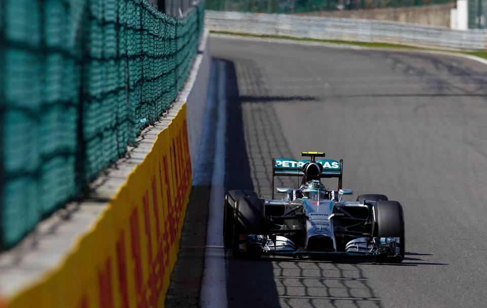 Belgio: FP1 a Rosberg, Ferrari 4° e 5°