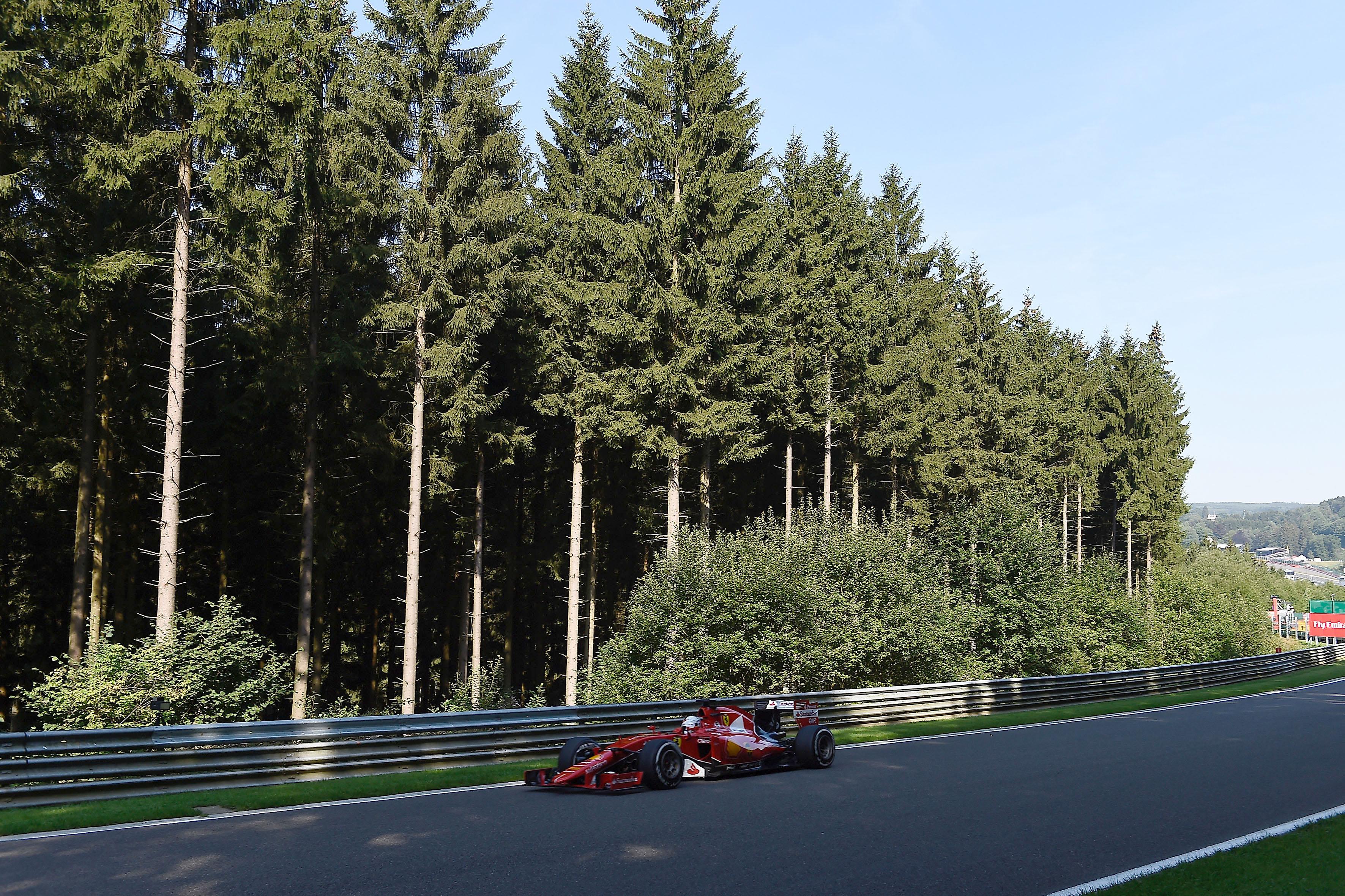 Belgio: il punto sulle libere Ferrari