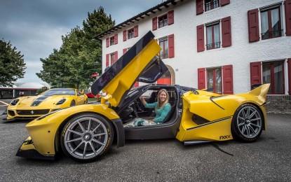 Compleanno a casa Ferrari per Christine