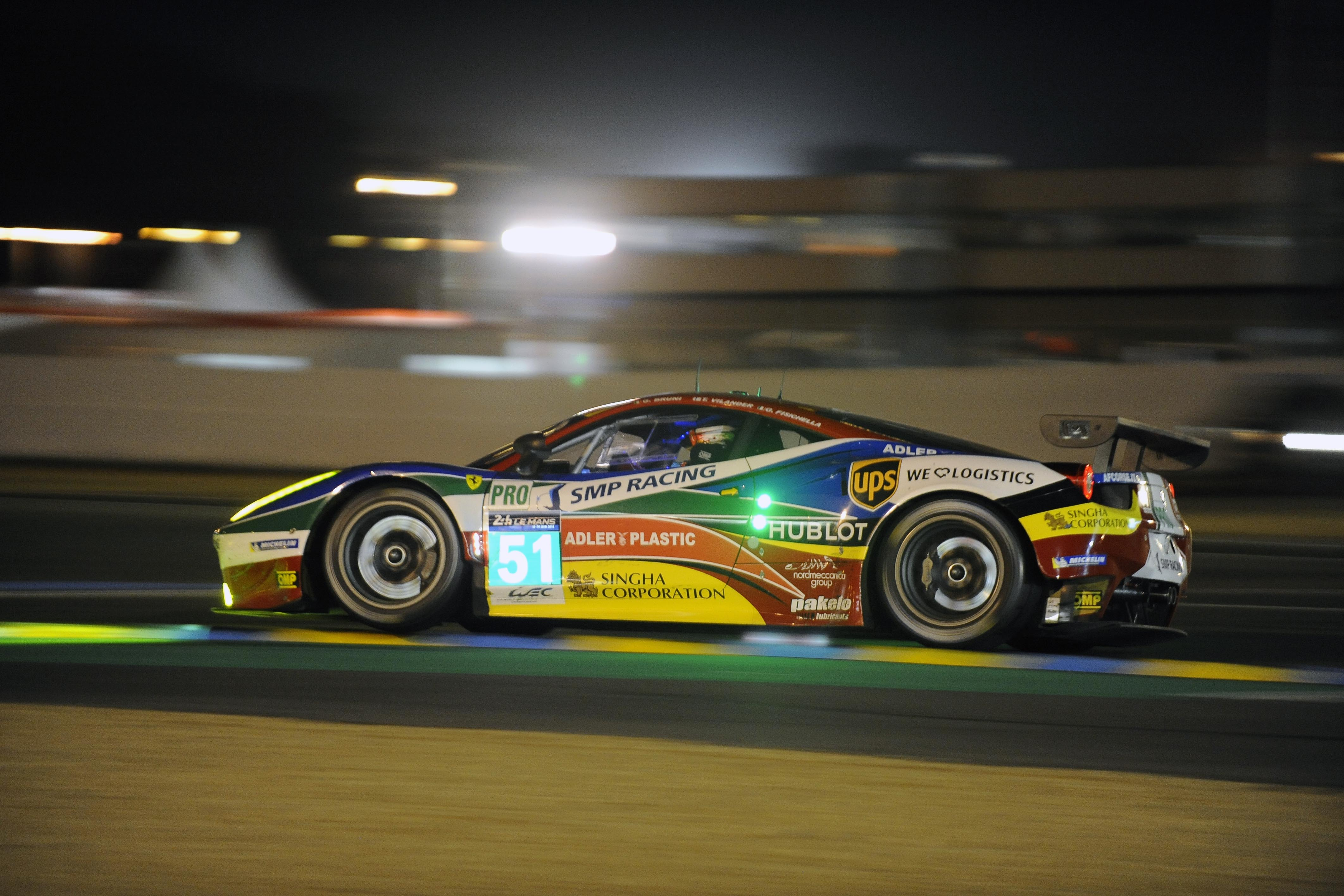 FIA WEC: quattro Ferrari al Nurburgring