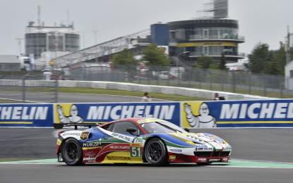 WEC: venerdì intenso al Nurburgring