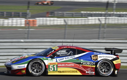 WEC: doppia pole Ferrari al Nurburgring