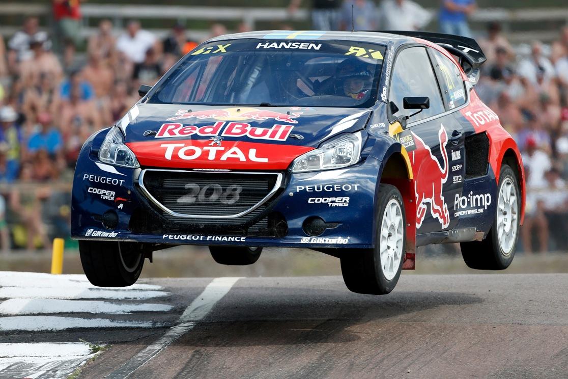 RX: Peugeot Hansen alla conquista del Canada