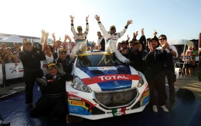Andreucci Campione Italiano Rally 2015