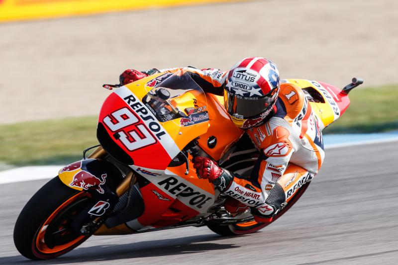 MotoGP: Marc Marquez in pole a Indy