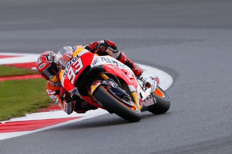 MotoGP: sesta pole 2015 per Marquez